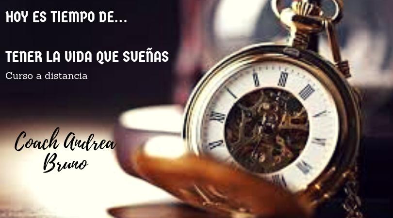 Hoy es tiempo de...