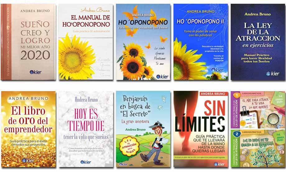 2020 Libros en papel Andrea Bruno Editorial Kier