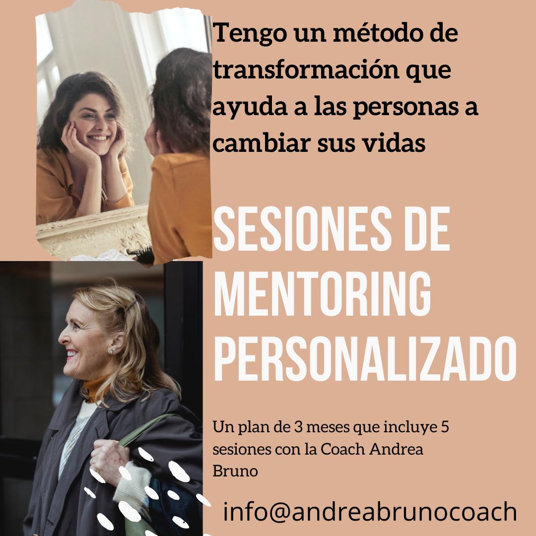 Sesiones de coaching con Andrea Bruno